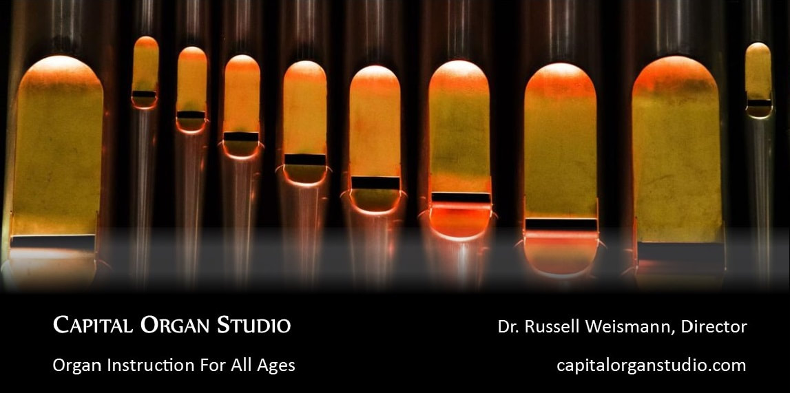 Capital Organ Studio: organ instruction for all ages.
